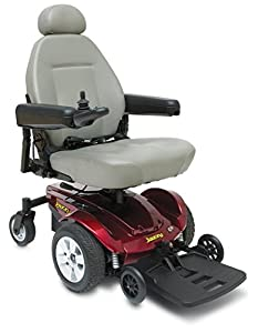Pride Jazzy Select Electric Powered Wheelchair - Red
