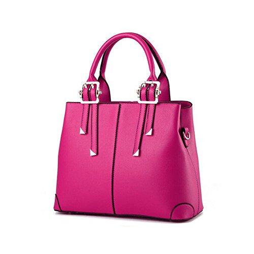 Beatayang Damen Elegant Schultertasche Handtasche Rose