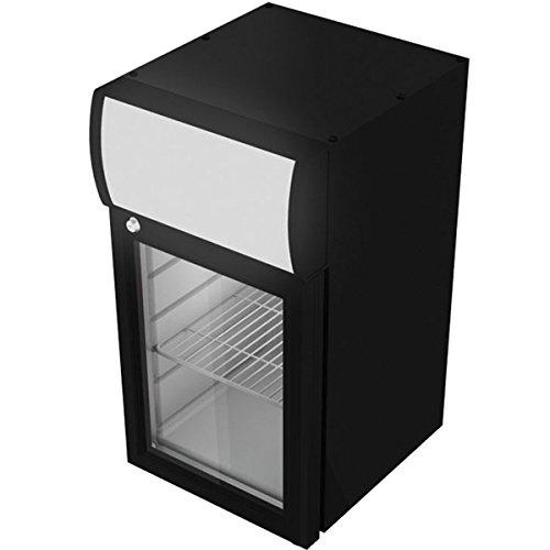 Gastro-Cool Arrière-bar vitré Réfrigérateur 21 L GCDC25 Mini frigo réfrigérateur