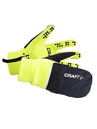 Craft-Abbigliamento Giallo Fluo/Nero (Flumino/Black) XS