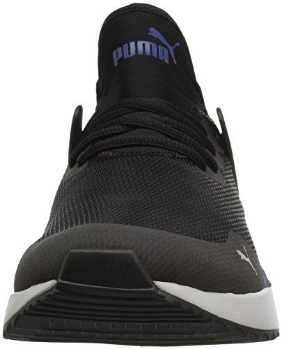 PUMA Unisex Pacer Next Cage Jr Sneaker Black-Sodalite Blue-Gray Violet  7 M US Big Kid