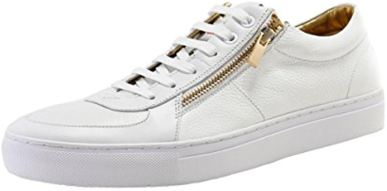 HUGO Futurism Tenn Herren Sneaker Weiß