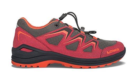 Lowa Innox Evo Gtx Lo Junior, Scarpe da Escursionismo Unisex – Bambini rosso/arancione