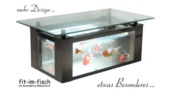 Design Aquarium Tisch 138 Liter 120x65 Cm: Amazon.de: Haustier Great  Pictures