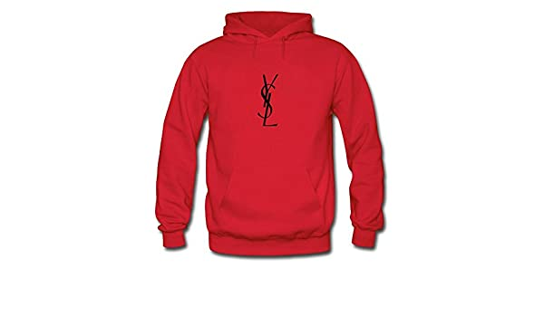 5c49841e7e7 YSL Yves Saint Laurent Printed For Boys Girls Hoodies Sweatshirts Pullover  Outlet: Amazon.co.uk: Clothing