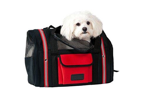 Karlie Smart Bag, schwarz/rot