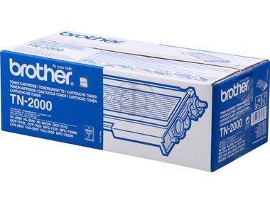 Brother Original Toner TN2000 TN-2000 - Premium Drucker-Kartusche - Schwarz - 2500 Seiten