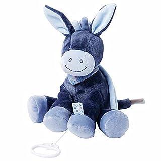 Nattou Spieluhr, Jungen, 28 cm, blau - Alex der Esel