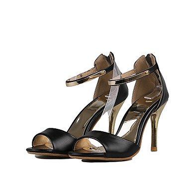 Enochx Donna Sandali Primavera Estate Autunno D'Orsay & in due pezzi PU Office & Carriera Party & abito da sera Stiletto Heel blushing pink