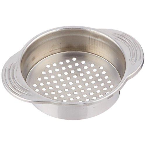 "KitchenCraft Stainless Steel Food Can Strainer/Tin Sieve, 11.5 x 9 cm (4.5"" x 3.5"")"