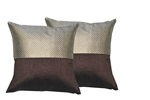 Durable Dupian Silk Embroidery plain printed Decorative Square Throw Pillow Cover Cushion...
