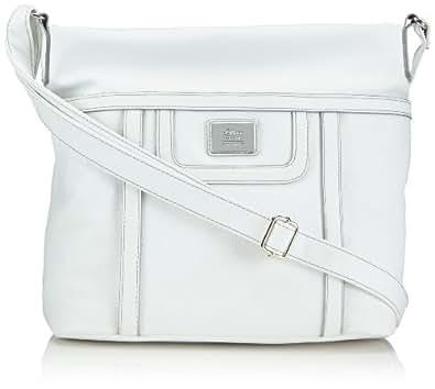 s.Oliver (Bags) Shoulder Bag 39.404.94.6926 Damen Schultertaschen 36x30x11 cm (B x H x T), Weiß (Weiß 0100)