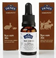 Denes Homeopathy Nux Vomica Remedy 30c/15ml