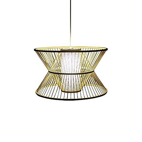 larsure Sud-Est asistyle créatifs Hôtel Restaurant idyllique lumière Bambou Lampe personnalité Inn Lustre