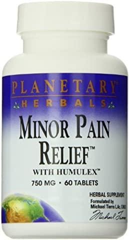 Minor Pain Relief, with Humulex, 750 mg, 60 Tablets