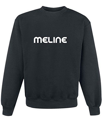 Felpa Meline - Print Your Name Black