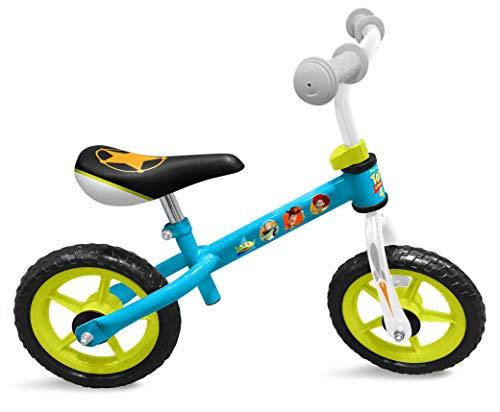 (Stamp Woody-Buzz L'ECLAIRE-Jessie Toy Story 4 Running Bike, C867006, Blau, Grün)