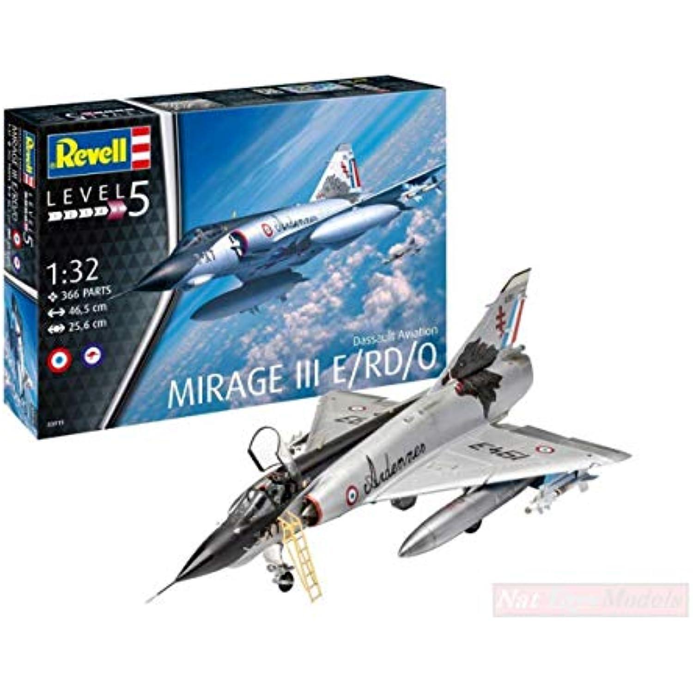 New REVELL RV03919 RV03919 RV03919 Dassault Mirage III E KIT 1:32 MODELLINO Model e3ac32