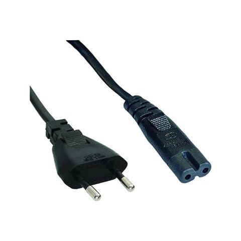 Intos Câble d'alimentation IEC 320 EN 60320 C7 Noir 3 m 3 x Stromkabel