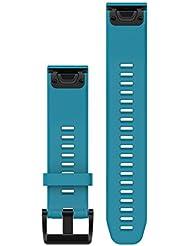 Garmin Quickfit-wechselarmband Silikon-Armband, Cirrus Blau, One Size, 010-12496-04