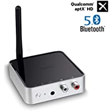 Golvery Bluetooth 5.0 Transmisor Receptor, Adaptador Bluetooth 328 pies de Largo Alcance para la TV