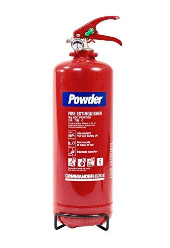 Preisvergleich Produktbild 2 kg Dry Pulver (Budget) Feuerlöscher