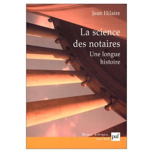 La Science des notaires : Une longue histoire