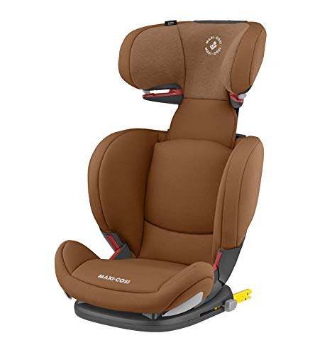 Maxi-Cosi RodiFix AirProtect Child Car Seat, Isofix Booster Seat, Cognac, 15-36 kg Maxi-Cosi Booster car seat for children from 15-36 kg (3.5 to 12 years) Grows along with your child thanks to the easy headrest and backrest adjustment from the top Patented air protect technology for extra protection of child's head 1