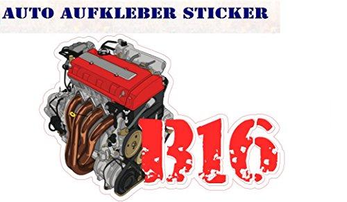 B16 Honda Motor Bunte Sticker OEM Fun Aufkleber Hater gebraucht kaufen  Wird an jeden Ort in Deutschland
