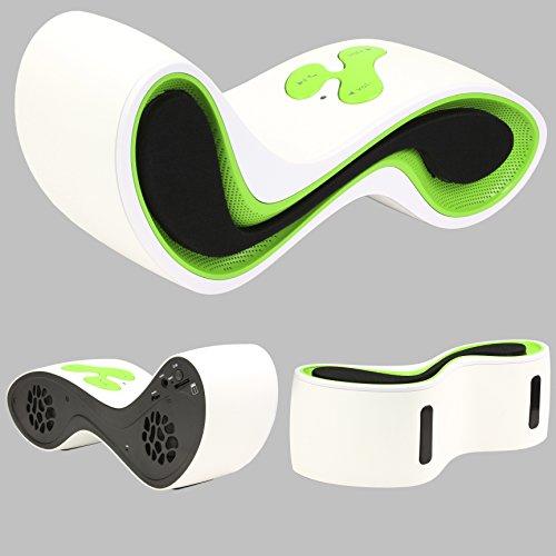 Original Urcover® Designer Bluetooth Lautsprecher Boxen kompatibel mit jedem Bluetooth Gerät für Freizeit Büro & Hause 30 Meter Bluetooth Empfang 90 DB Lautstärke Boxen Wireless Kabellos Grün