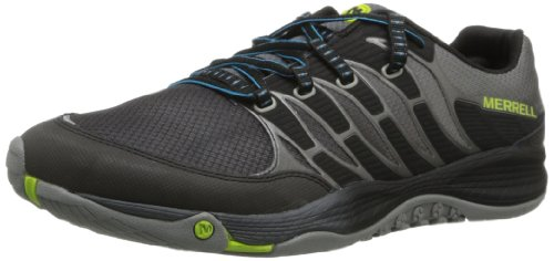 Merrell Allout Fuse, Chaussures Multisport Outdoor Homme Multicolore (black/lime)