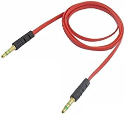 Lambent 3.5mm Male to Male Car AUX Cable Connector