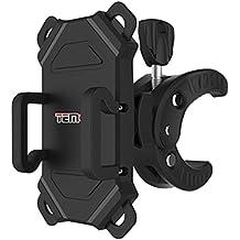 Temco HCM105-N - Soporte Móvil para Bicicleta y Motocicletas, 6.3 pulgadas, color