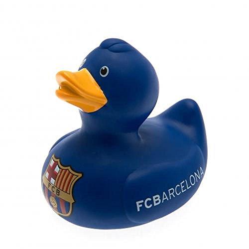 Jouets pour bébé - officielle FC Barcelone Canard en caoutchouc jouet de bain - Fantaisie bébé Football Cadeau idées