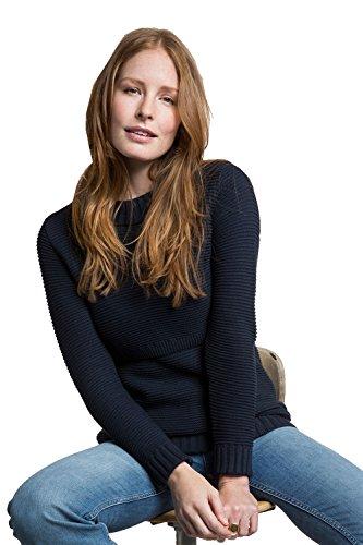 Boob 1216 - Pull d'allaitement tricoté en coton, 2 coloris, tailles S - XL Midnight Blue