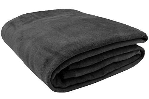 Zollner Wolldecke grau 150x200 cm (weitere Farben, Größen), Baumwollanteil