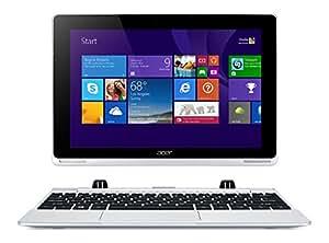 "Acer Aspire Switch W5-012-149A Convertibile 2 in 1: Notebook e Tablet da 10.1"" Full HD IPS, Processore Intel Atom Z3735F Quad-Core, RAM 2 GB, eMMC 32 GB, Argento"