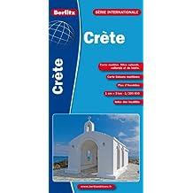 Crète, carte routière et touristique