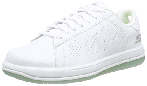 Skechers On-the-go element, Baskets Basses homme Blanc - Blanc (wht)