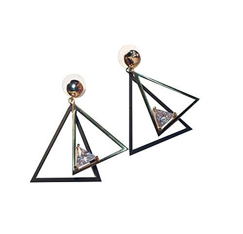 aceful Dreieck Ohrring -Nadel Ohrstecker (Western Perlenketten)