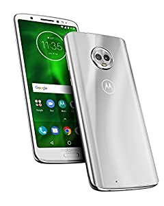 motorola moto g6 64GB  5.7-Inch Android 8.0 Oreo UK Sim-Free Smartphone with 4GB RAM and 64GB Storage (Dual Sim) - Silver (Exclusive to Amazon)