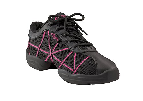 capezio-web-danza-zapatillas-ds19-color-negro-y-rosa-color-negro-talla-38