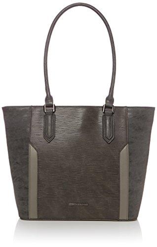 Bulaggi - Maxime Shopper 30180, Sacchetto Donna Grigio (Grigio (Grey))