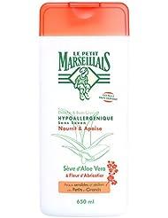 Le Petit Marseillais Douche et Bain Hypoallergénique Aloe Fleur Abricotier 650 ml