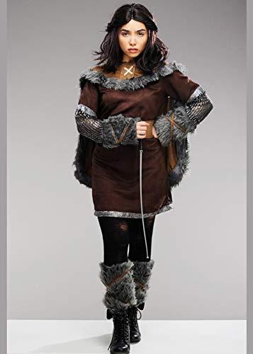 Magic Box Int. Braunes Arya Stark Style Warrior Kostüm für Damen