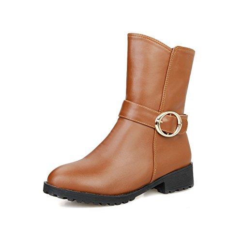 Marron Pour Bottes Balamasa Femme Balamasa Bottes OpXPP-chaussures ... 40bdf08d7c0e