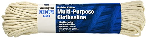 wellington-cordage-llc-eclipse-7-32-inch-x-200-ft-solid-braided-cotton-clothesline