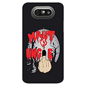 Mobo Monkey Designer Printed Back Case Cover for LG G5 :: LG G5 Dual H860N :: LG G5 Speed H858 H850 VS987 H820 LS992 H830 US992 (Humor :: Middle Finger :: Comic :: Ungli :: Typography)
