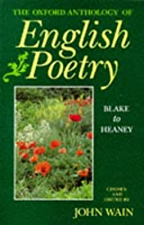 The Oxford Anthology of English Poetry: Blake to Heaney v.2: 002