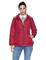 Fort Collins Womens Cape Hoodie (17901 AZ_red_M)